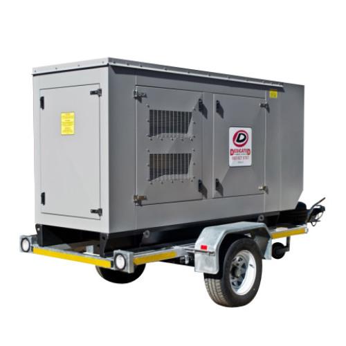 85kVA Lovol Trailered Set Generator
